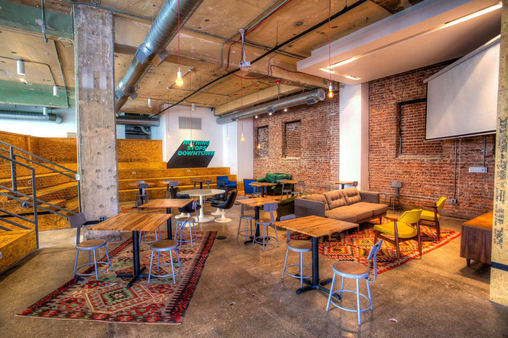 space at Switchyards Downtown Club