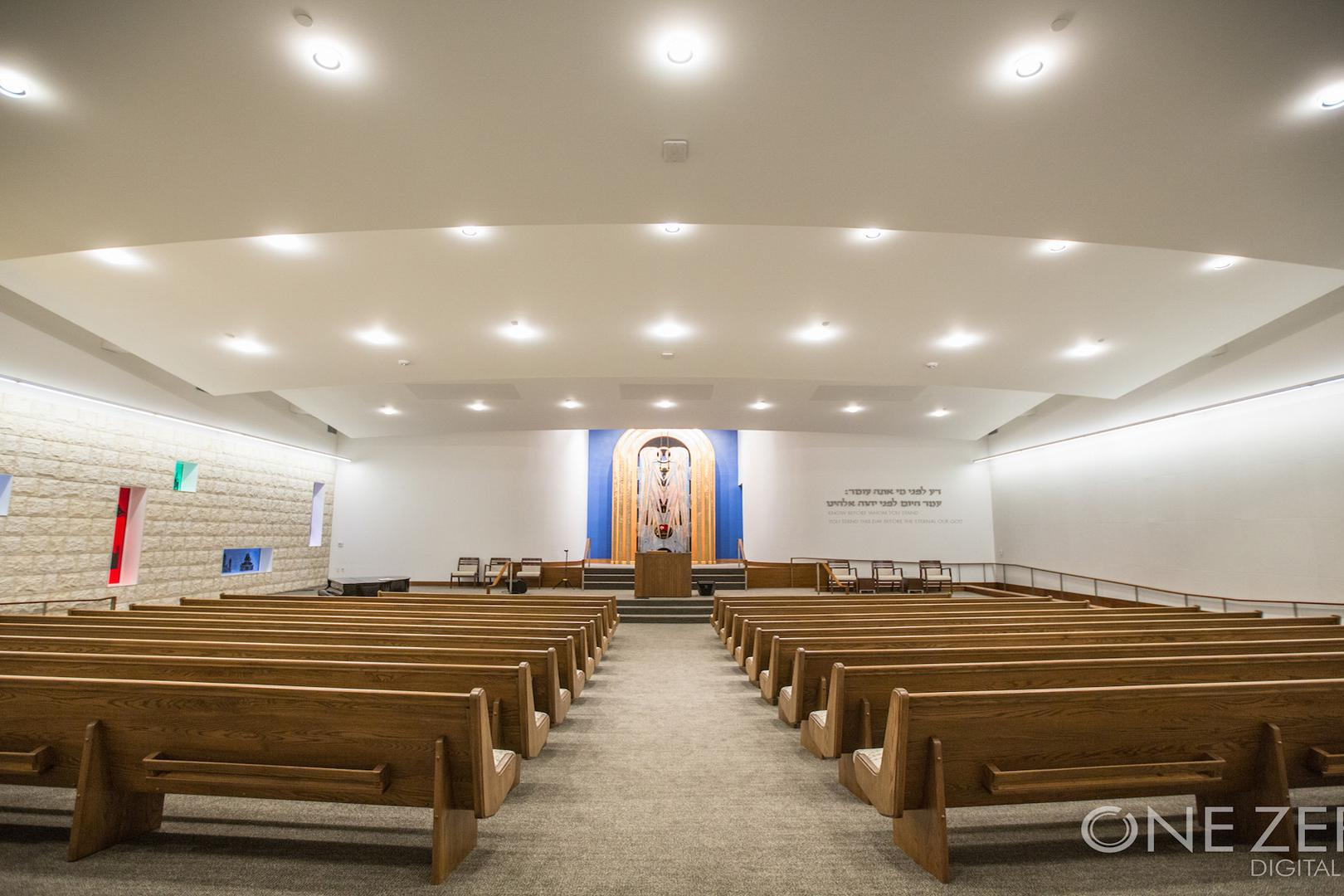 space at Temple Beth Sholom