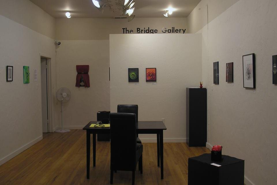 space at The Bridge Gallery