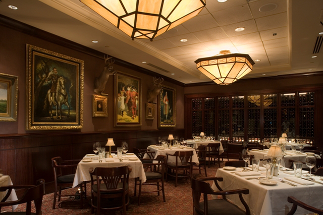space at The Capital Grille