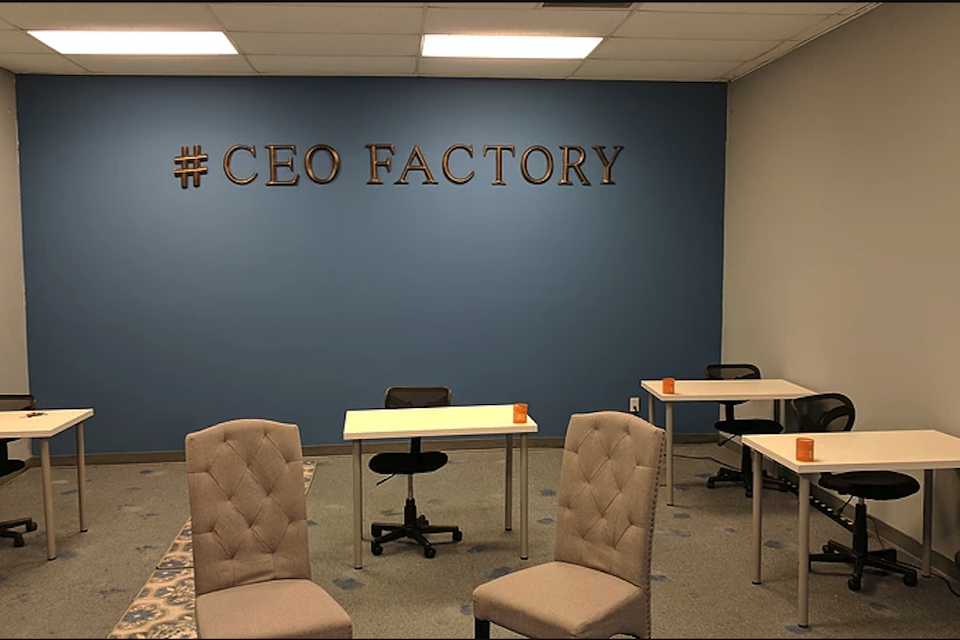 space at The CEO Factory