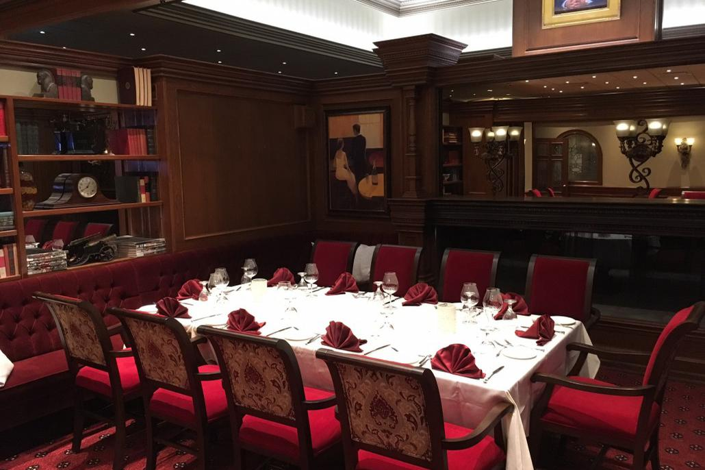 space at The Diplomat Steakhouse