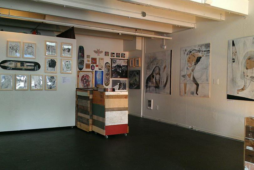 space at The Hollow Gallery