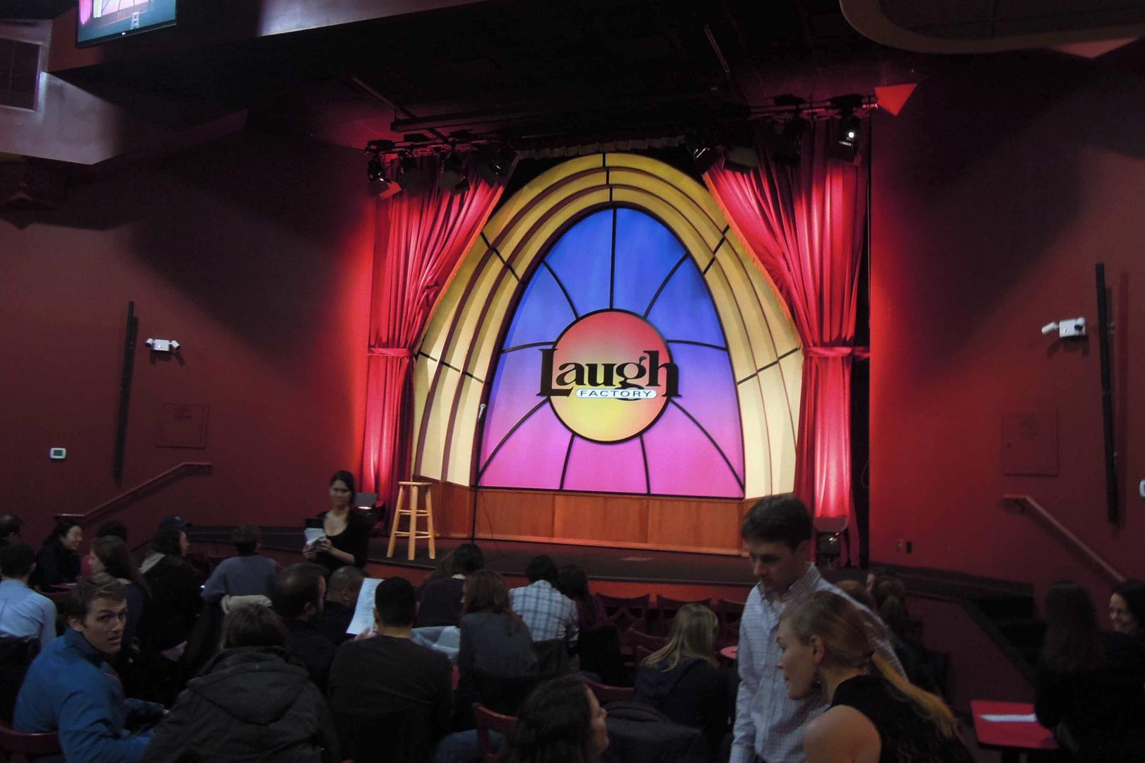 space at The Laugh Factory Chicago