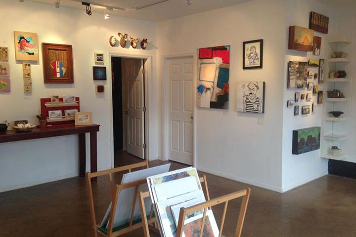 space at The Red Arrow Gallery