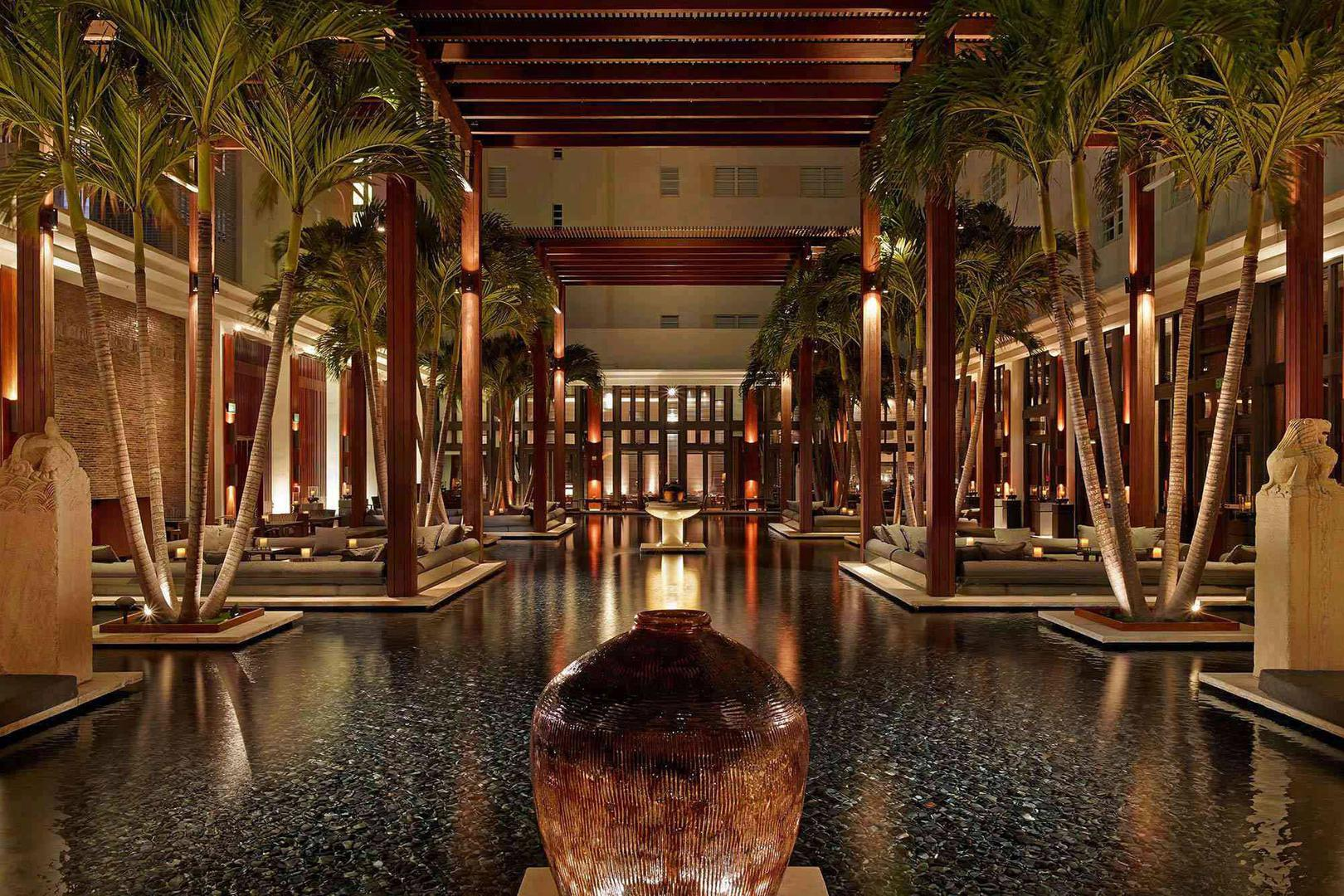 space at The Setai Miami Beach