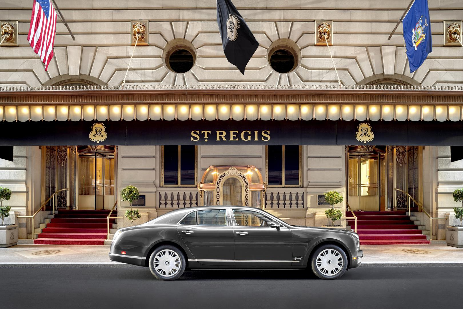 space at The St. Regis New York