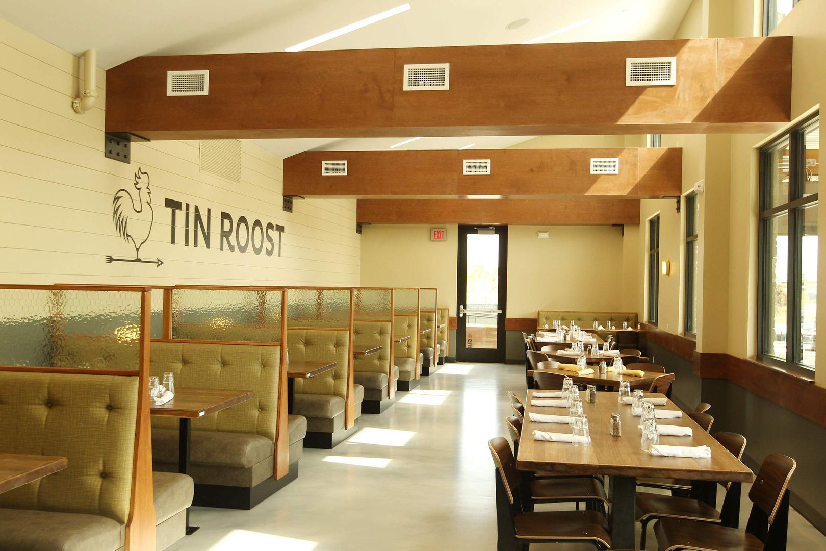 space at Tin Roost