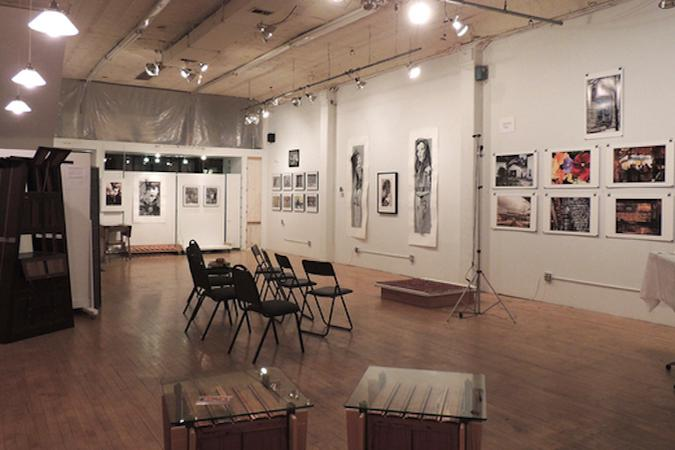 space at Tom Robinson Studio and Gallery