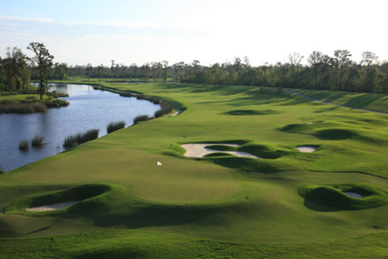 space at TPC Louisiana