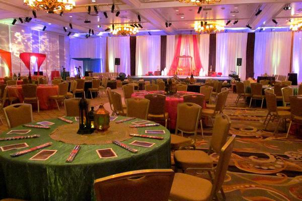 space at Treasure Island Hotel Weddings