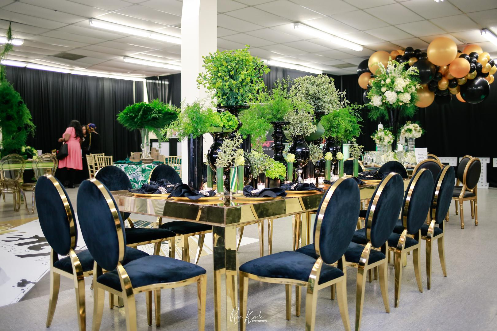 space at Party Vibes Venue & Decor Rentals