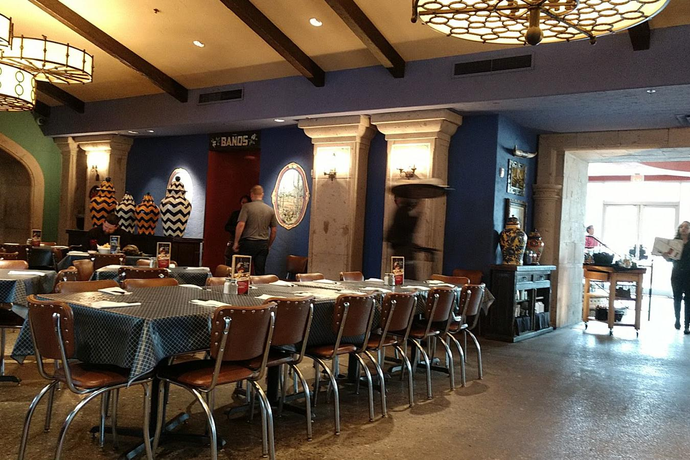 space at Uncle Julio's - Buckhead