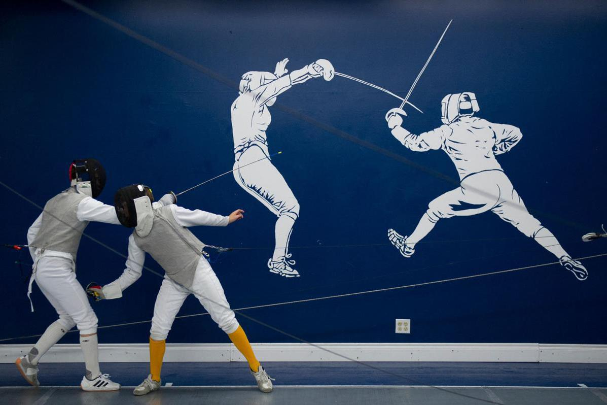 space at Utah Sport Fencing Center