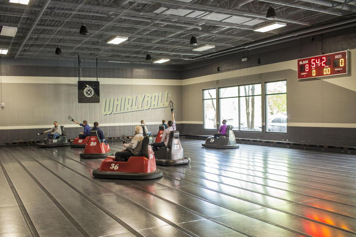 space at WhirlyBall