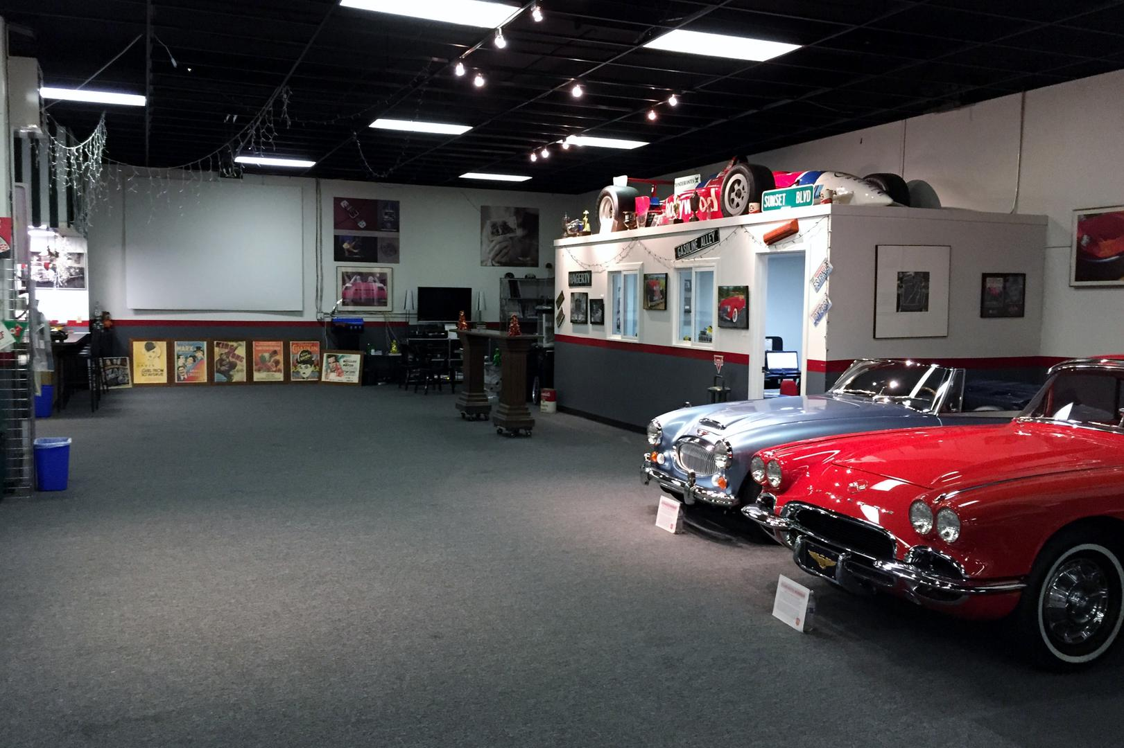 space at Wild About Cars Garage