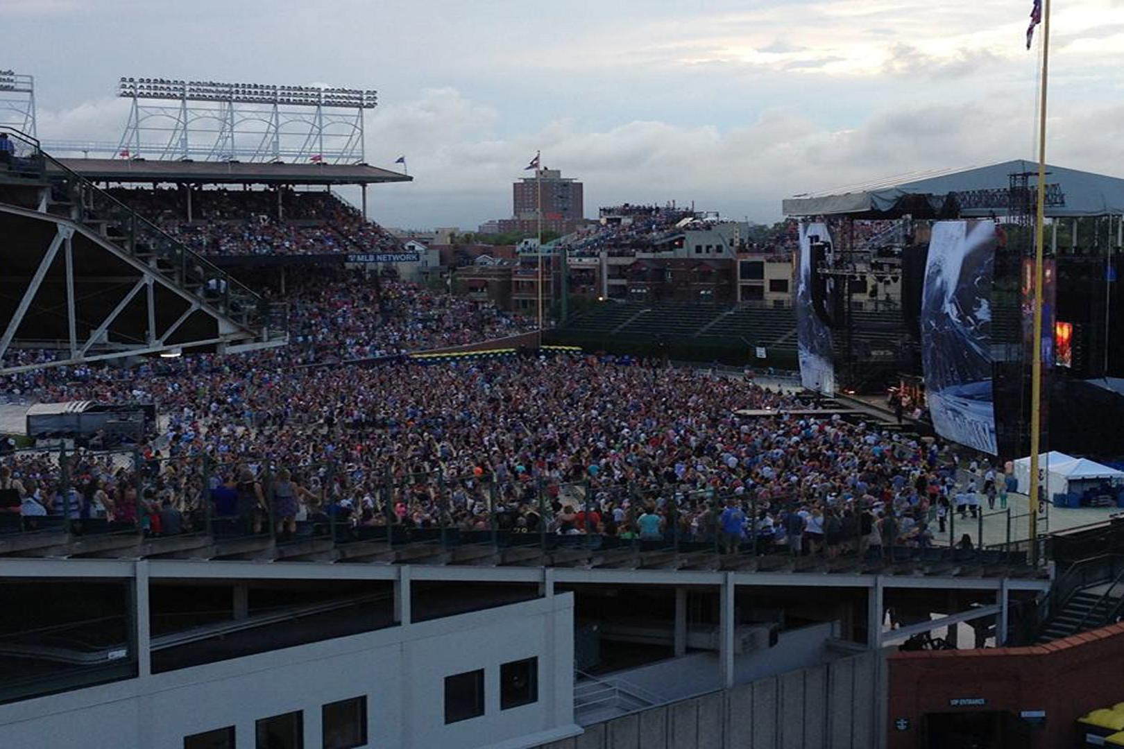 space at Wrigley Rooftops