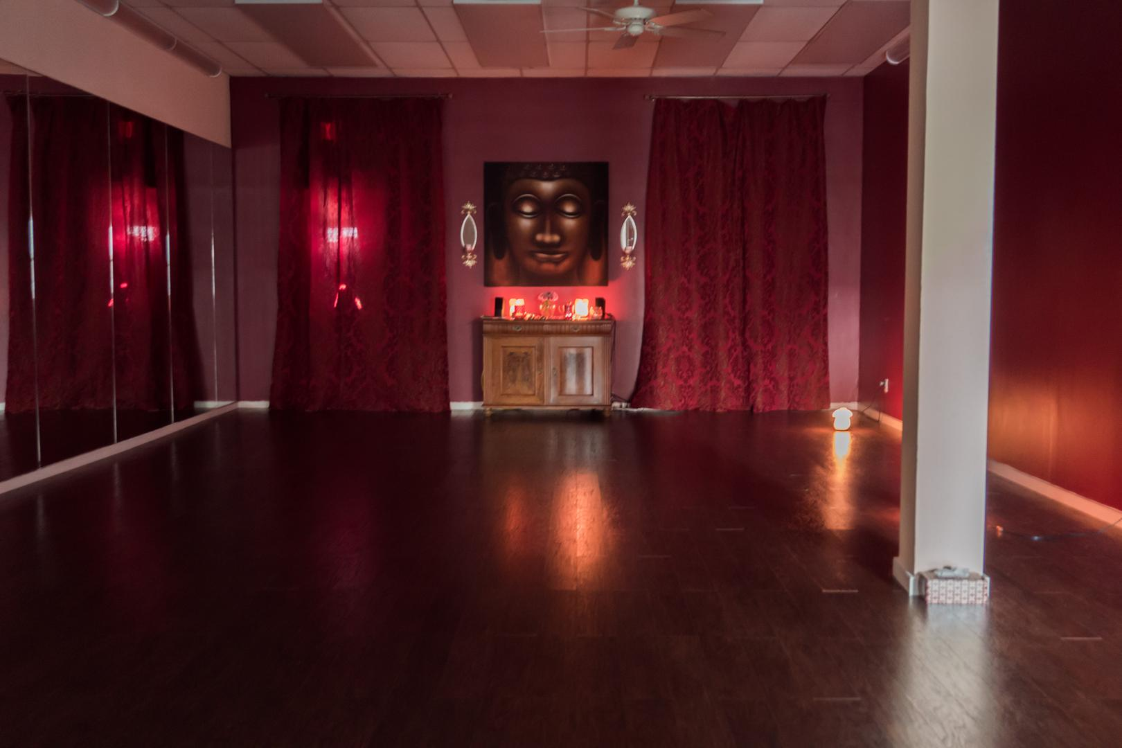 space at Yoga Spa